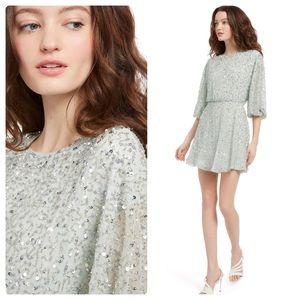 ALICE + OLIVIA Palmira Sequin Mini Dress